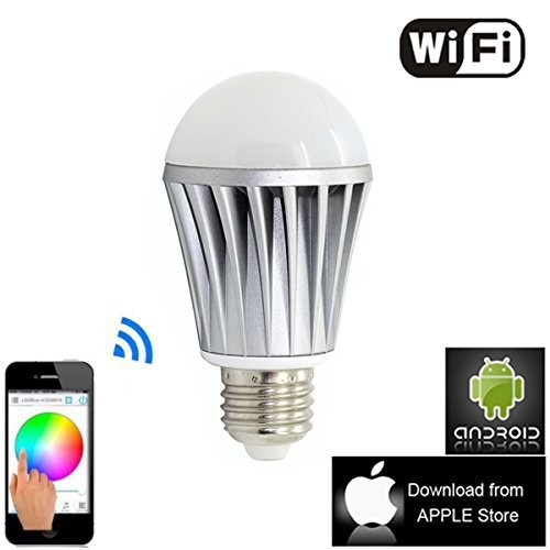 WiFi Smart LED Lighting Series! Music Alarm Group WiFi LED Bulb,WiFi RGB LED Bulb,WiFi Smart LED Light Bulb