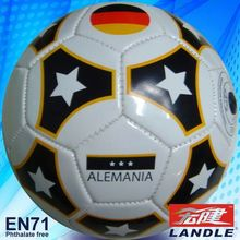 Machine Stitched Leather soccer balls&footballs sports 2012