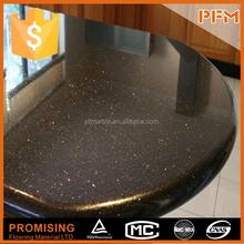 beautiful decorative natural view kitchen counter top indian black galaxy granite
