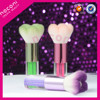 Noconi professional high quality synthetic hair acrylic handle powder blush brush, beauty cosmetic makeup brush