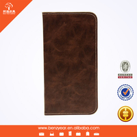 cheap coffee PU leather mobile phone case for samsung note 4 leather cases