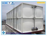 SMC panel water tank, glass fiber storage vessel, GRP tank