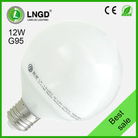 CE ROHS global dimmable 12W sphere LED bulb