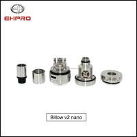 high quality e cigarette 510 dripping atomizer ehpro original billow nano 2 rda rebuildable atomizer