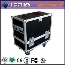 "Aluminum flight case road case transport crate case 18"" subwoofer speaker box flight case"
