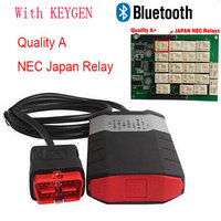 DHL DS150e CDP Plus PRO Bluetooth For DELPHI DS150E Truck Car Auto OBD OBDII obd2 Scanner cdp Diagnostic tools