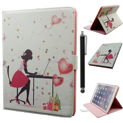With Sleep Function Foldable Smart Cover Case For Ipad mini/For Ipad Mini 4 Printing Covers