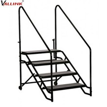 Metal non-slip industrial portable stairs