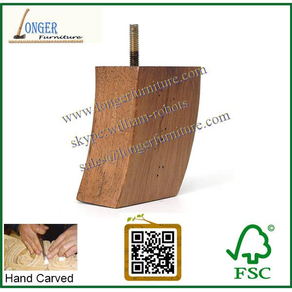 Utilis meubles pieds sofa en bois pied de meuble en bois - Pieds de meuble en bois ...