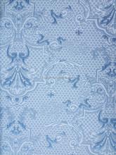 copy knitting 100%polyester(SPUN) woven jacquard mattress fabric /F1408-1/ blue