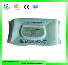 OEM pet cleaning wet tissue factory