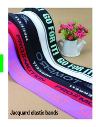 Jacquard elastic bands for cycling jerseys, yoga clothing, baseball clothing and other professional sportswear