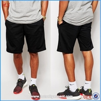 2015 Hot Sale Basketball Sport Running Elastic Waist Sweat Shorts For Men