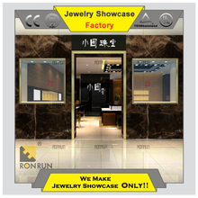 High end wood retail display showcases furniture for interior design ideas jewellery shops