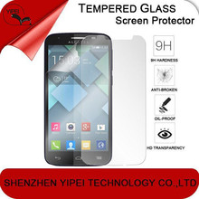 Clear Tempered Glass Screen Protector for Alcatel C7 Film 2.5D Round Edge Protective Film