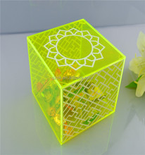 Clear top-end waterproof plexiglass acrylic square box
