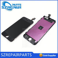 Top quality !!! for iphone 5 display lcd oem , replacement for display iphone 5 , for iPhone 5s LCD display