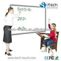 Low cost High definition dual users interactive whiteboard