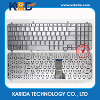 New Replacement Keyboard for HP Pavilion HDX16 Series X16 X16T UT6 Silver Laptop Keyboard Layout IT US