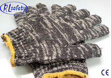 Comfortable and safe mixed color knitted gloves