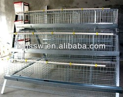 Specialized in manufacturing welded wire mesh chicken breeding cage