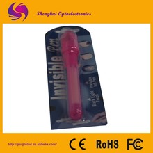 Red Invisible Ink Pen. Novelty pen Funny Gift Spy Pen