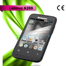 mobile phone projector android 2.3 lenovo a269 dual sim card dual standby with CE certificate