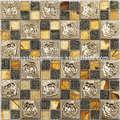 SA26 fabricante de Baldosa mosaico de acero inoxidabl de cocina y baño con propia fábrica