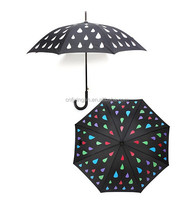 color changeable chameleon umbrella when wet
