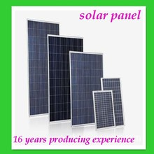 2015 polycristalline solar panel 250 watt solar cells 6x10