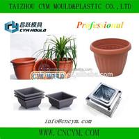 hot sale high quality injection elegant flower pot mold