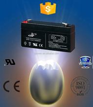 6V1.2AH Sealed Lead-acid Battery, 6V, Voltage, 1.2Ah Nominal Capacity, alibaba credit guarantee battery