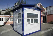 Prefab High quality and low cost sentry box kit house made in china