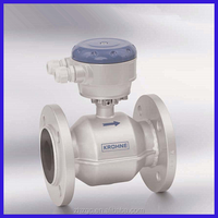 water and wastewater applications electromagnetic flow meter with hard rubber liner