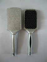 2014 Hot wholesale Fashion custom logo bling paddle brush