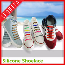 Promotional hot sale silicone shoelace new product office gift from China