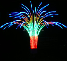Party and wedding ornaments led color changing fireworks