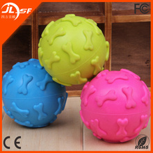 Popular pet dog toy,blue squeaky ball rubber dog toys,rubbber dog toys wholesale