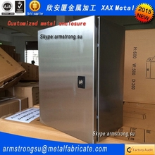 XAX001MB 2015 New Arrival chinese rectangular metal box,sheet aluminum Router box