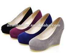 2012 women autumn leisure wedge shoes