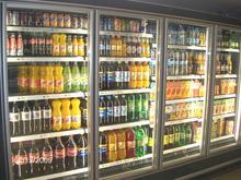 1 Door Upright Stainless Steel Insulated Glass Window for Freezer Merchandiser Display Case, Commercial Grade