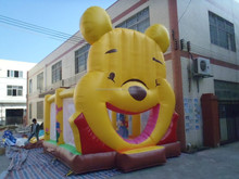 lovely outdoor inflatable teddy bear bouncers for children play