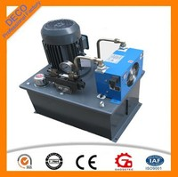 gas powered hydraulic power oil pump station unit
