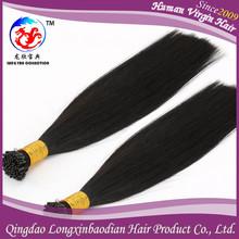 2015 Wholesale Price New Fasion Styles 100% Italian Keratin Glue Good Feedback Cuticle Remy I Tip Keratin Pre Bonded Hair Extens