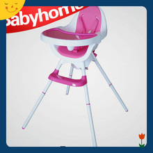 easy folding and small size Plastic baby folding high chair