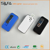 silfa with 2G-32G flash USB flameless brand chewing gum lighter
