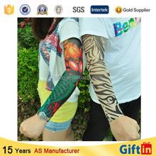 Unisex tattoo sleeve stencil , Sport packaging box sleeve , Custom hand sleeve