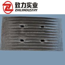 High machining OEM crusher jaw plate for Laboratory