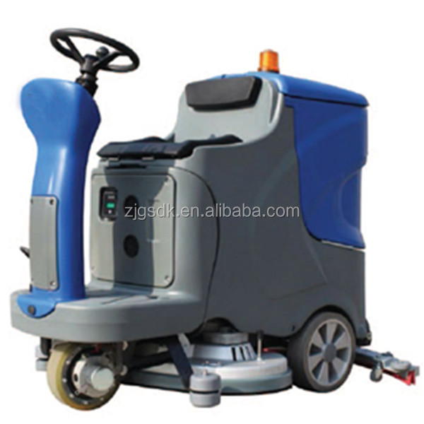 Industrial multi function concrete floor cleaning scrubber for Concrete floor cleaning machine rental