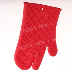 RENJIA heat resistance 3 finger silicone glove oven mitt and silicone glove 3 fingers